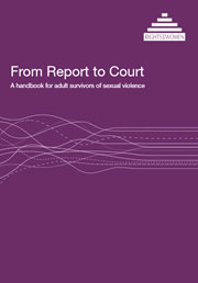 Handbook for adult surviors of sexual violence