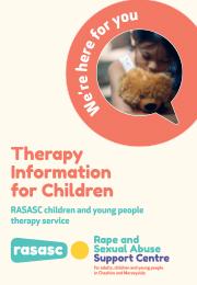 RASASC Children Under 13 Therapy Service Leaflet